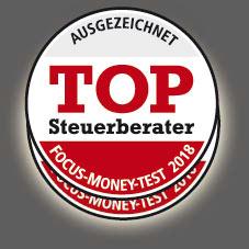 Wir sind Top Steuerberater | Focus Money 2016