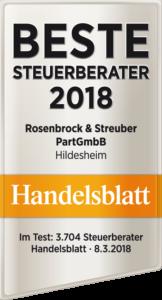 Handelsbaltt: Beste Steuerberater 2018 Steuerberater Hildesheim